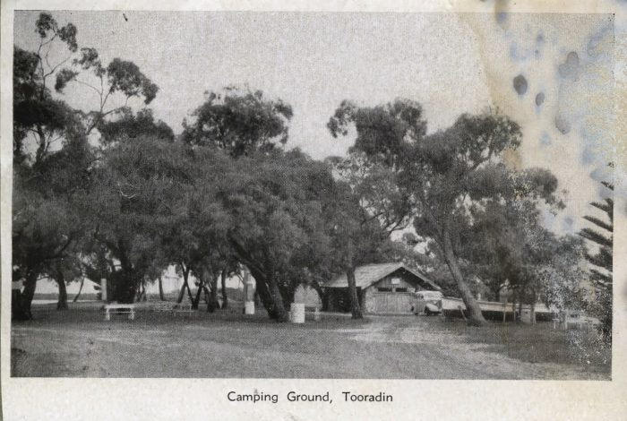 Camping Ground Tooradin postcard