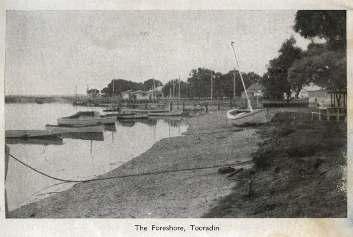 Foreshore postcard
